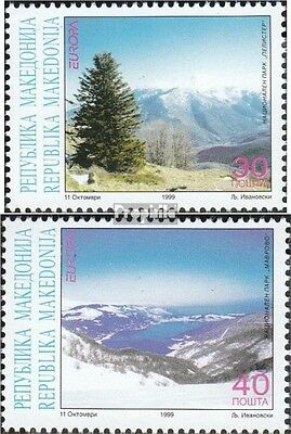 makedonien 162-163 mint never hinged mnh 1999 National