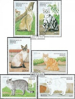 Benin 1056-1061 mint never hinged mnh 1998 Cats