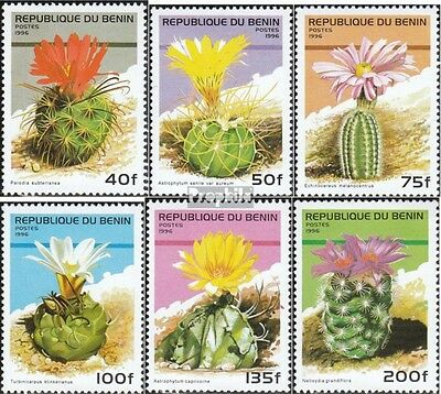 Benin 824-829 mint never hinged mnh 1996 Cacti