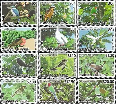 Tonga 1885-1896 mint never hinged mnh 2013 clear brands: Birds