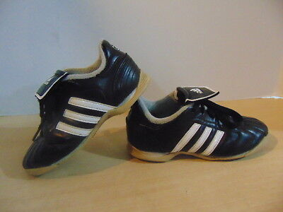 Soccer Shoes Cleats Childrens Size 11 Adidas Indoor Black White