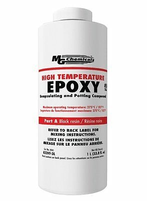 MG Chemicals 832HT-3L High Temp Black Epoxy Encapsulating and Potting Compound