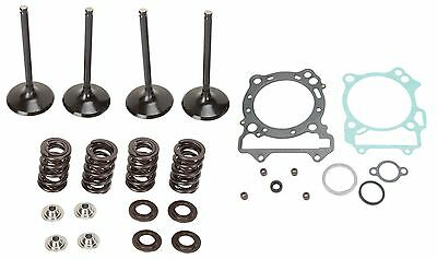 Moose Complete Stainless Steel Valve Kit and Gaskets For Honda CRF 250 R X 04-07