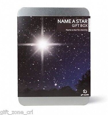 NAME A STAR Gift Box - BUY Perfect PERSONALISED Present - Gift Republic