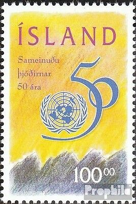 Iceland 837 fine used / cancelled 1995 50 years UN