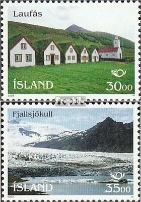 Iceland 824-825 fine used / cancelled 1995 Tourism