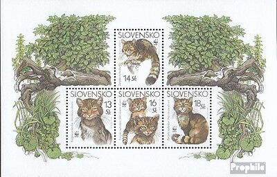 Slovakia block22 mint never hinged mnh 2003 European Wildcat