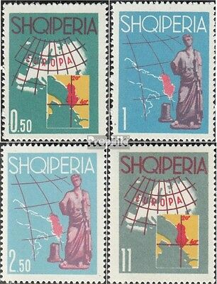 Albania 683-686 mint never hinged mnh 1962 Europe