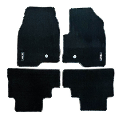 Vauxhall Antara Velour Black Tailored Front/Rear Floor Car Mats GENUINE OE