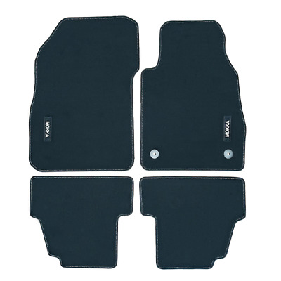Vauxhall Mokka Velour Black Tailored Front/Rear Floor Car Mats GENUINE OE