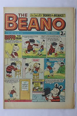 The Beano #1648 February 16th 1974 FN Vintage Comic Bronze Age Dennis The Menace