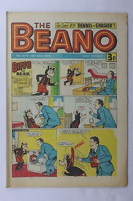 The Beano #1670 July 20th 1974 FN Vintage Comic Bronze Age Dennis The Menace