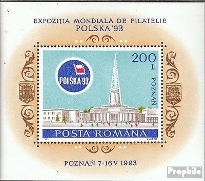 Romania block281 mint never hinged mnh 1993 Stamp Exhibition