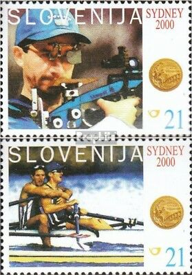 slovenia 326-327 mint never hinged mnh 2000 Gold Medalists