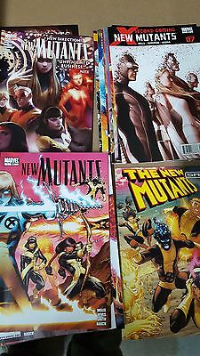 from X-men New Mutants Comic Lot 2009 1-29 Vf+-NM bagged
