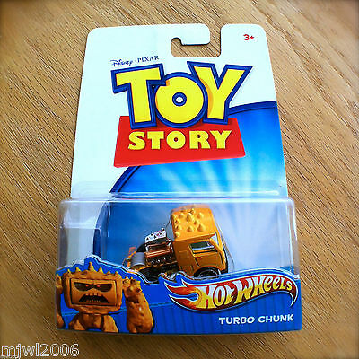 Disney PIXAR Toy Story TURBO CHUNK Hot Wheels diecast Mattel truck