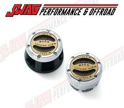 99-04 Ford Super Duty 4x4 - Front Hub Lockout Locking Kit Premium - (PAIR)