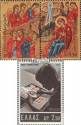 Greece 1119-1120 Couple,1121 (complete issue) unmounted mint / never hinged 1972