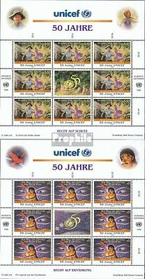 UN-Vienna 218-219 Sheetlet (complete issue) unmounted mint / never hinged 1996 F