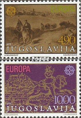 Yugoslavia 1787-1788 (complete issue) unmounted mint / never hinged 1979 Europe