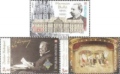Croatia 338-340 (complete issue) unmounted mint / never hinged 1995 Culture