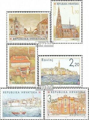 Croatia 341-346 (complete issue) unmounted mint / never hinged 1995 croatian. Ci