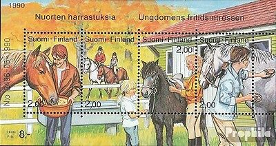 Finland block6 (complete issue) used 1990 Ride