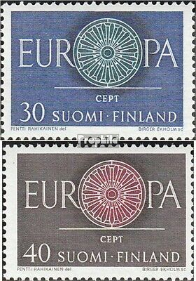 Finland 525-526 (complete issue) used 1960 Europe