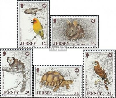 united kingdom-Jersey 442-446 (complete issue) unmounted mint / never hinged 198
