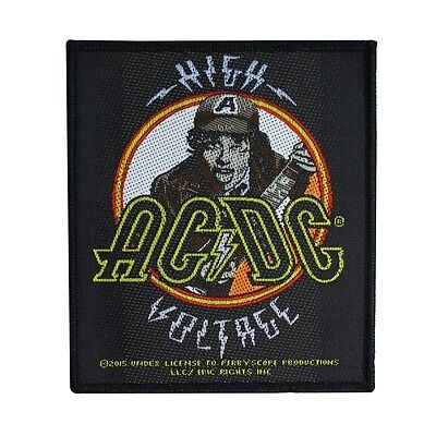 "Angus Young ""AC/DC: High Voltage"" Band Album Patch ACDC Jacket Sew-On Applique"