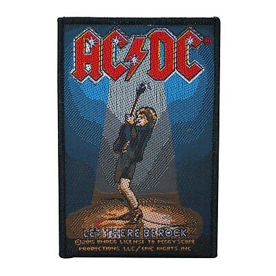 """Angus Young """"AC/DC: Let There Be Rock"""" Patch ACDC Band Jacket Sew-On Applique"""