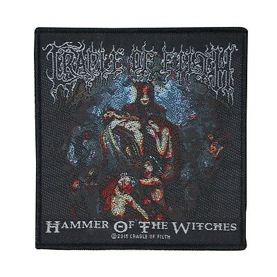 """Metal """"Cradle of Filth: Hammer of the Witches"""" Band Album Patch Sew-On Applique"""