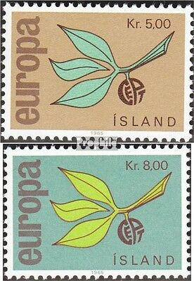 Iceland 395-396 (complete issue) unmounted mint / never hinged 1965 Europe