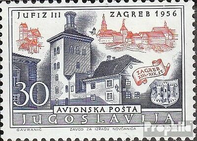 Yugoslavia 789 (complete issue) unmounted mint / never hinged 1956 Boarding. Sta