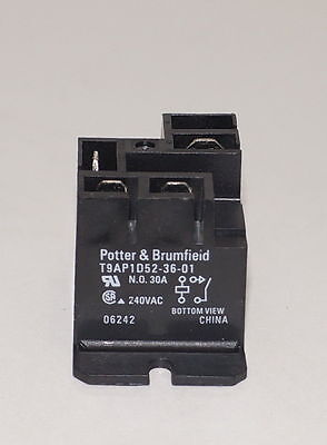 Potter & Brumfield T9Ap1D52-36-01 36V 30A Battery Charger Relay Lester Golf Car