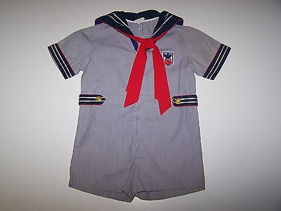 Vintage Boy 1 pc Sailor Outfit 4T  For ( Large Dolls Peter Playpal )