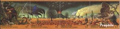 UN-Vienna 156-159 quad strip (complete issue) used 1993 climate