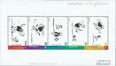 FRD (FR.Germany) block63 (complete issue) first-day stamp used