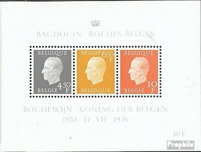 Belgium block44 (complete issue) unmounted mint / never hinged 1976 King Baudoui