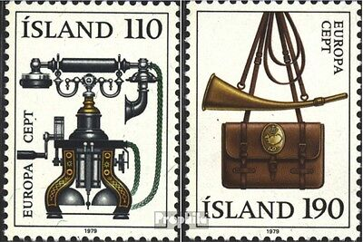 Iceland 539-540 (complete issue) used 1979 Postal