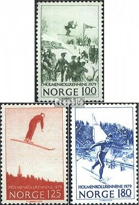 Norway 790-792 (complete issue) unmounted mint / never hinged 1979 Ski Jumping