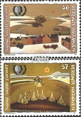 UN-Vienna 184-185 (complete issue) used 1995 Youth