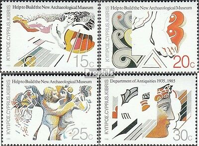 Cyprus 651-654 (complete issue) unmounted mint / never hinged 1986 archaeologica