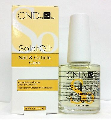 Solar Oil 0.5 oz/15ml- Nail & Cuticle Conditioner- cnd