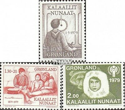 Denmark-Greenland 115,116,118 (complete issue) unmounted mint / never hinged 197