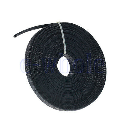 10M Practical Braided Sleeving Cable Harness Sheathing Expanding Sleeve 10mm EW