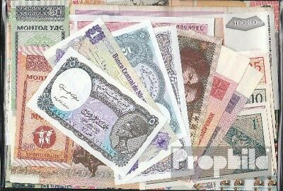 all World 25 different Banknotes