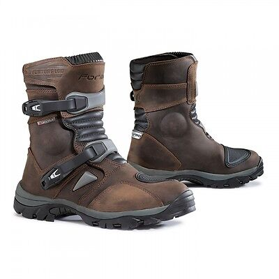 Stivale Moto Atv Quad Enduro Motorcycle Boots Forma Adventure Brown Low