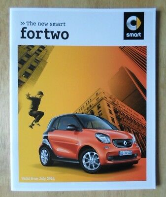 SMART FORTWO 2015 UK Mkt Sales Brochure - For Two