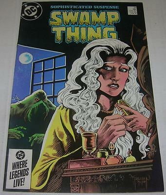 SAGA OF THE SWAMP THING #33 (DC Comics 1985) Reprints 1st app (FN/VF) Alan Moore